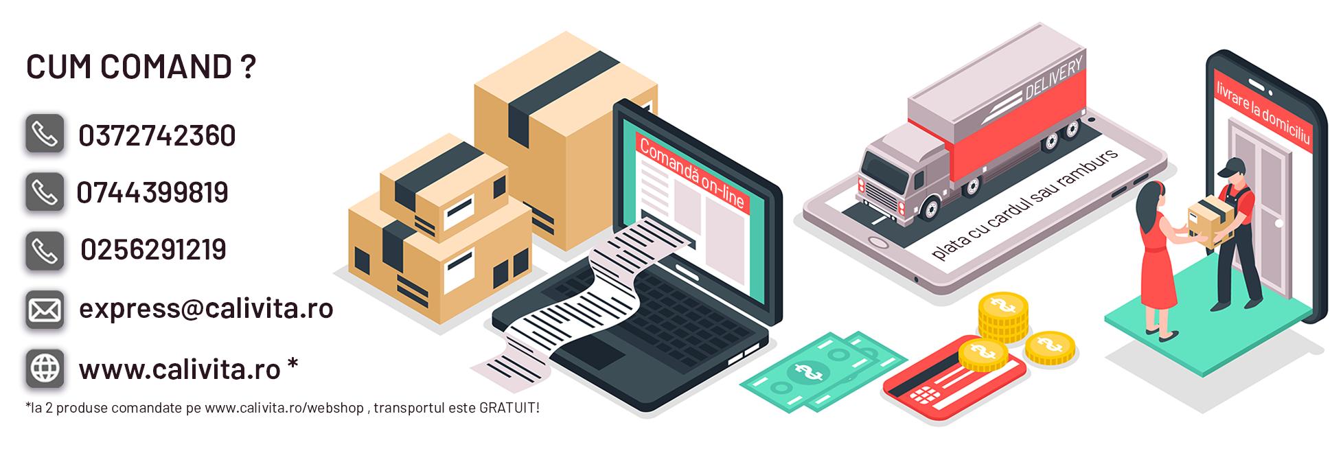 Promotii produse CaliVita Romania - online si in magazinele CaliVita